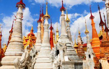 Birmania, templi