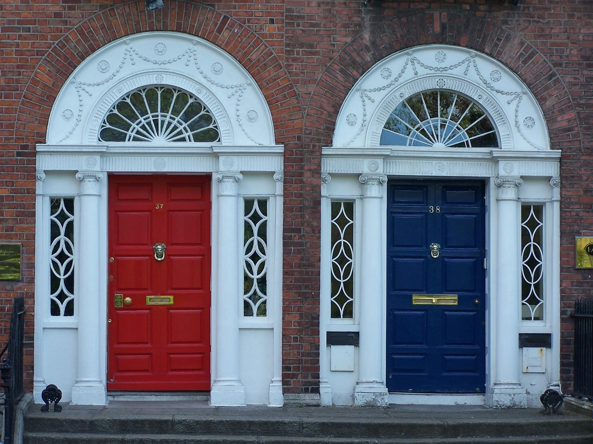 IRLANDA, porte Dublino