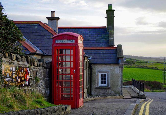 IRLANDA, cabina telefonica