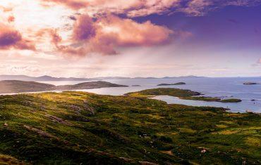 IRLANDA, tramonto